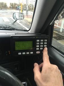 ファミリーマートタクシー配車システム