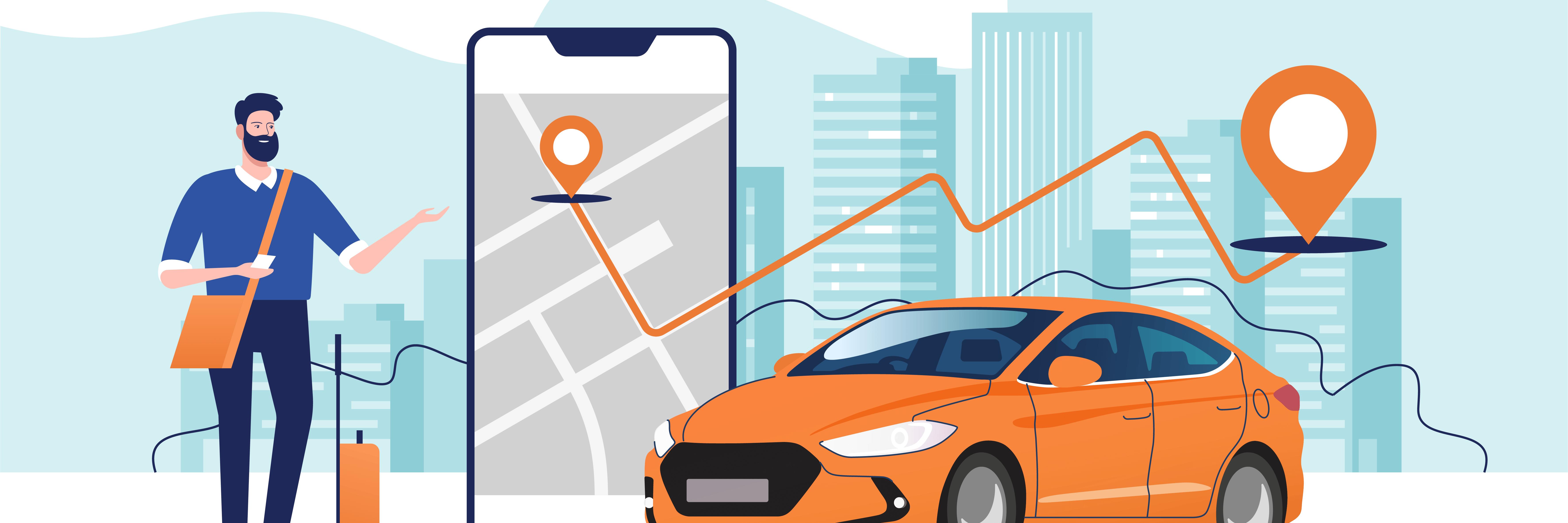 タクシーの事前確定運賃とは?利用者にも運転手にもメリットがある